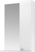 Шкаф с зеркалом для ванной Triton Локо 55 (правый, белый) -