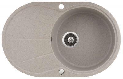 Мойка кухонная Aquasanita CLARUS SR101 (силика) - вид сверху