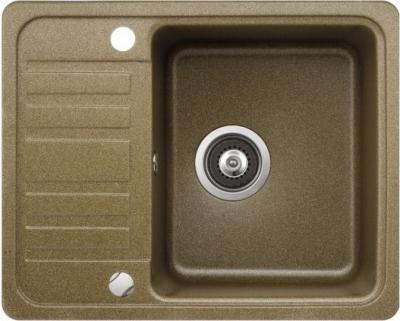 Мойка кухонная Aquasanita NOTUS SQ102 (латунь) - вид сверху