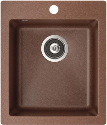 Мойка кухонная Aquasanita SIMPLEX SQS100 (медь) - общий вид