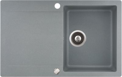 Мойка кухонная Aquasanita CUBA SQC101 (металлик) - общий вид