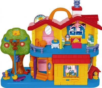 Развивающая игрушка Kiddieland Мой первый домик 032730 - общий вид