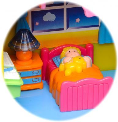 Развивающая игрушка Kiddieland Мой первый домик 032730 - спальня