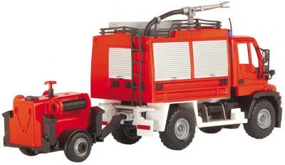 Детская игрушка Dickie Машина пожарная с прицепом (203444823) - вид сзади