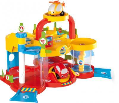 Детский паркинг Smoby Гараж для машинок 211265 - общий вид