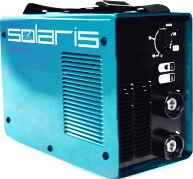Инвертор сварочный Solaris MMA-164B + ACX (в чемодане) - общий вид