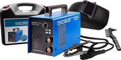 Инвертор сварочный Solaris MMA-226B + ACX (в чемодане) - комплектация