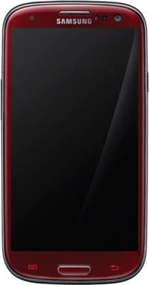 Смартфон Samsung Galaxy S III La Fleur / I9300 (красный) - общий вид