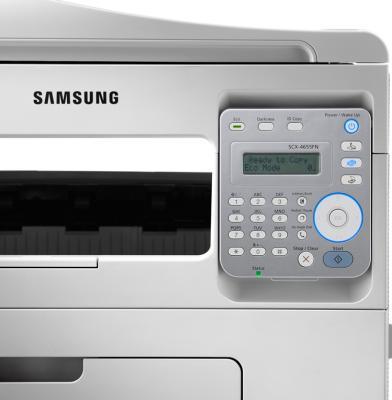 МФУ Samsung SCX-4655FN - панель управления