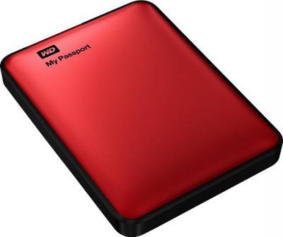 Внешний жесткий диск Western Digital My Passport 500GB Red (WDBZZZ5000ARD-EEUE) - общий вид