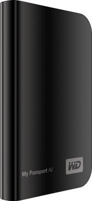 Внешний жесткий диск Western Digital My Passport AV 320 Gb (WDBABS3200ABK-EESN) - общий вид