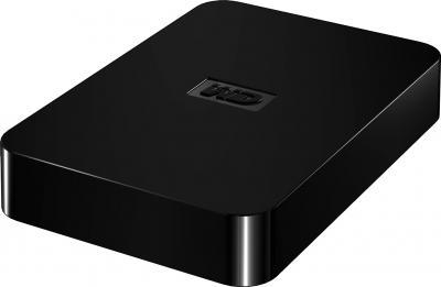 Внешний жесткий диск Western Digital Elements SE Portable 1TB (WDBPCK0010BBK-EESN) - общий вид