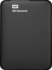 Внешний жесткий диск Western Digital Elements Portable 1.5TB (WDBBJH0015BBK) - общий вид