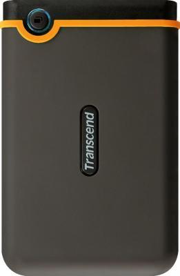 Внешний жесткий диск Transcend StoreJet 25M2 750 Gb (TS750GSJ25M2) - фронтальный вид