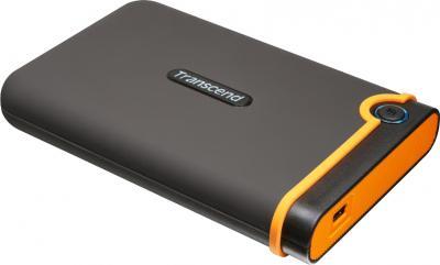 Внешний жесткий диск Transcend StoreJet 25M2 750 Gb (TS750GSJ25M2) - общий вид