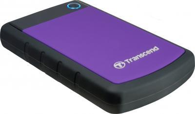 Внешний жесткий диск Transcend StoreJet 25H3P 750GB (TS750GSJ25H3P) - общий вид