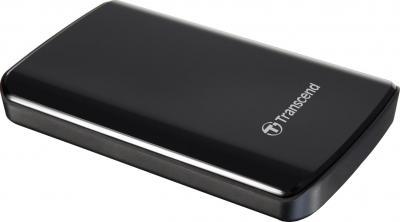 Внешний жесткий диск Transcend StoreJet 25D2 750 Gb (TS750GSJ25D2) - общий вид
