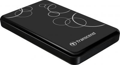 Внешний жесткий диск Transcend StoreJet 25A2 500GB Black (TS500GSJ25A2K) - общий вид