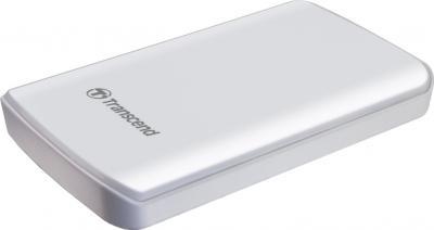 Внешний жесткий диск Transcend StoreJet 25D2 500 Gb (TS500GSJ25D2-W) - общий вид