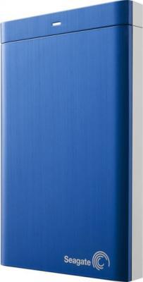 Внешний жесткий диск Seagate Backup Plus Portable Blue 500GB (STBU500202) - общий вид