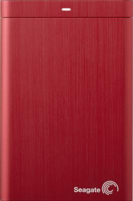 Внешний жесткий диск Seagate Backup Plus Portable Red 1TB (STBU1000203) - общий вид