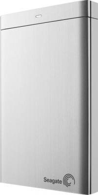 Внешний жесткий диск Seagate Backup Plus Portable Silver 1TB (STBU1000201) - общий вид