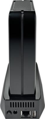 Сетевой накопитель Seagate GoFlex Home 1 TB (STAM1000200) - вид сзади
