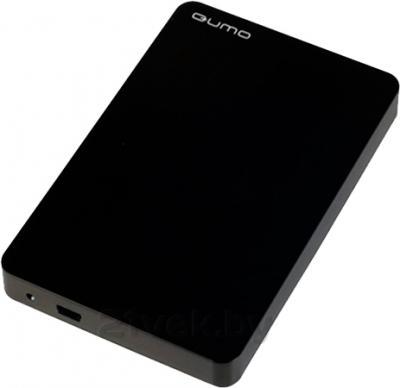 Внешний жесткий диск Qumo iQA Black 640GB (iQA640b) - общий вид