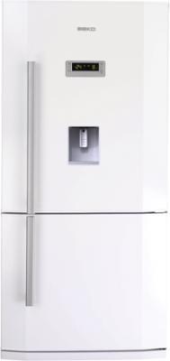 Холодильник с морозильником Beko CNE 63721 DE - общий вид