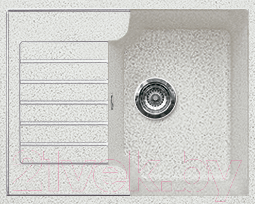 Мойка кухонная Gran-Stone GS-13S (серый)