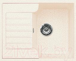 Мойка кухонная Gran-Stone GS-13S (белый)