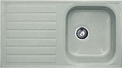 Мойка кухонная Gran-Stone GS-20 (серый) - общий вид