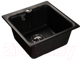 Мойка кухонная Gran-Stone GS-42 (Black)