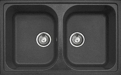 Мойка кухонная Gran-Stone GS-15 (Anthracite) - общий вид