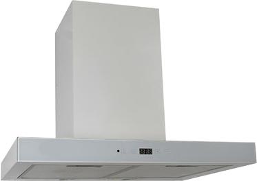 Вытяжка Т-образная Zorg Technology Стелс E (Stels) 1000 (60, Matt Stainless Steel-White) - общий вид