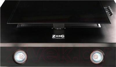 Вытяжка декоративная Zorg Technology Вертикал C (Titan) 750 (50, черный)