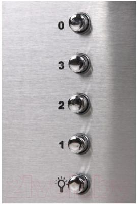Вытяжка декоративная Zorg Technology Vesta 750 (60, нержавейка матовая/белый)