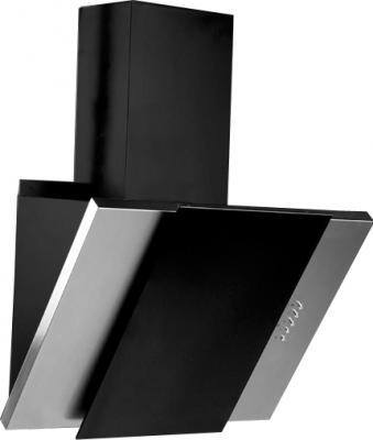 Вытяжка декоративная Zorg Technology Vesta 750 (60, нержавейка матовая/черный) - общий вид