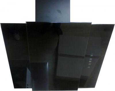 Вытяжка декоративная Zorg Technology Vesta 1000 S (60, черное стекло) - общий вид