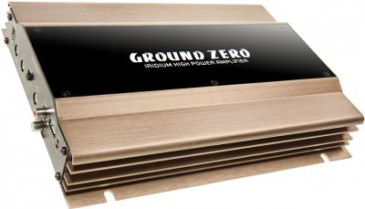 Автомобильный усилитель Ground Zero Iridium GZIA 2235HPX - общий вид