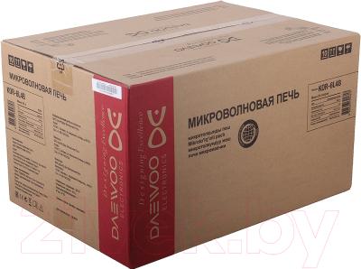 Микроволновая печь Daewoo KOR-6L65 - коробка