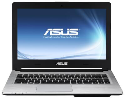 Ноутбук Asus N46VZ-V3012H - фронтальный вид