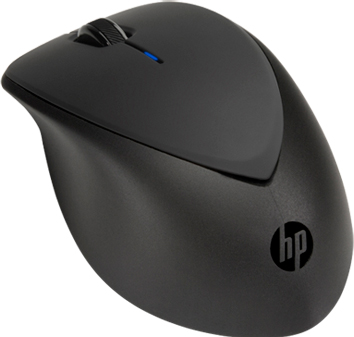 Мышь HP X4000b Bluetooth Mouse (H3T50AA) - вид сбоку