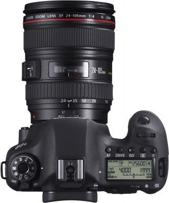 Зеркальный фотоаппарат Canon EOS 6D Kit 24-105mm IS - вид сверху