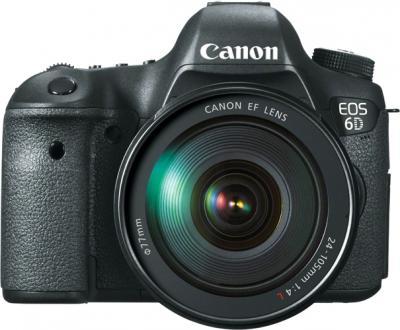 Зеркальный фотоаппарат Canon EOS 6D Kit 24-105mm IS - вид спереди