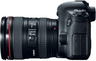 Зеркальный фотоаппарат Canon EOS 6D Kit 24-105mm IS - вид сбоку