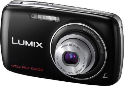 Компактный фотоаппарат Panasonic Lumix DMC-S3EE-K - общий вид