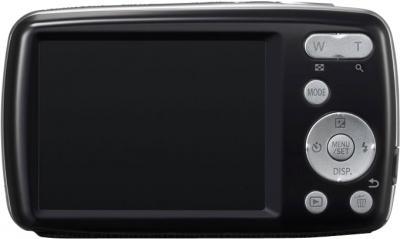 Компактный фотоаппарат Panasonic Lumix DMC-S3EE-K - вид сзади