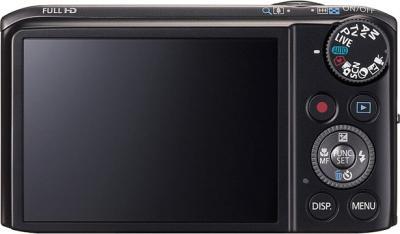 Компактный фотоаппарат Canon PowerShot SX240 HS Black - вид сзади