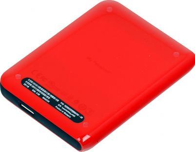 Внешний жесткий диск Western Digital My Passport Essential 500 Gb (WDBADB5000ARD) - вид сзади